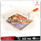 Stainless steel bbq grill basket