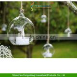 Hanging Glass Bauble Tealight Candle Garden Decoration Christmas Tree Balls 6cm                                                                         Quality Choice