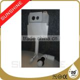 Hot sale wall hanging toilet tank, toilet tank bank, automatic flushing cistern SSNY102