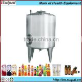 Electric heating mixing tank with agitator used for dairy/juice/beverage