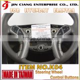 For HYUNDAI ELANTRA bluetooth kit car refit racing steering wheel