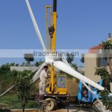 Reinforced glass fiber blades horizontal-axis wind turbine wind power