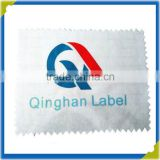 shenzhen private custom inkjet heat transfer Sublimation print wash care satin fabric labels