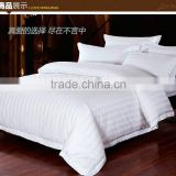 Hot Design Hotel and Hospital 300TC Cotton Bed Sheet Sets Luxury Bedsheet