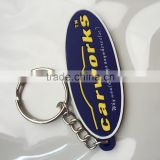 company logo keychain pvc soft keychain for promotional free gift motorcycle keychains