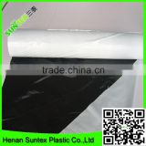INQUIRY ABOUT black/white mulch film/clear plastic protective film for vegetable cover from china manufacture