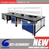 Total steel laboratory table with visible handles and mobile bases SHGG- G51020 (WDH-022)