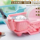 Plastic drop dish rack Tableware receive waterlogging caused by excessive rainfall dishes shelf