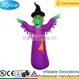 DJ-XT-129 inflatable witch lighted halloween bucket costume mask costume china wholesale