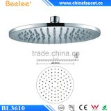 Beelee Round Brass Bathroom Top Shower 10'' 12'' 16'' Ceiling Mist Rainfall Shower Head                                                                         Quality Choice
