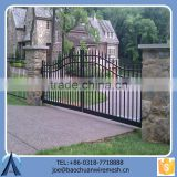 Removable Faux Black Swing Gate For Garden Factory