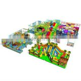 Cheer amusement children indoor playground with fun ball battle slide climbing equipment