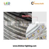 waterproof IP65 3014 LED strip light 300leds/roll LED strip light blue color 3 years warranty