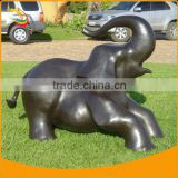 Fiberglass Resin Animal Sculpture Home Decor Resin Elephant Statues Resin Elephant Figurines