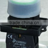 automotive electric switches, 12v led push pull button , emergency push button switch LAY5-EP31