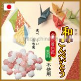 Award-winning konpeito sugar candy from Japanese candies supplier