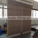 Double fabric roller blind especially for wholesale market with water resist fabric