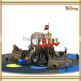pirate ship&boat series factory Price Outdoor Playground Equipment With GS Certificate