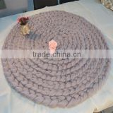 Huge Super Chunky Knit Merino Wool Blanket                                                                         Quality Choice