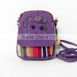 National manual craft bag Ethnic canvas bag