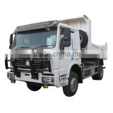 China HOWO 4x4 wheel diesel mini drive dump tipper truck for cheap price
