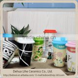Wholesale products high quality colorful 16oz double wall cup