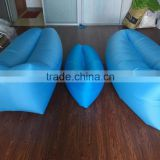 Original!!!Air Lounger Hangout Sofa Inflatable Lounger Compression Air Bed Nylon Fabric Beach Lounge Bag