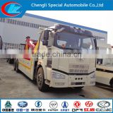 FAW car carrier wrecker 6x4 car recovery heavy duty car towing wrecker road wrecker cheap wrecker china tow truck