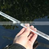NATURAL STRAIGHT CLEAR Crystal Healing Wand beautiful