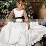 full-length ball gown flower girl dress or Beautiful and high quality organza flower dress or tulle layered flower girl dress
