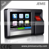 3.5'' TFT Touch screen TCP/IP, RS485, Wiegand26/34 in/out biometric fingerprint time attendance machine