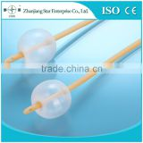 latex foley sterile medical suction catheter with CE / ISO