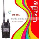 FEIDAXIN FD-890 with FCC certisfication 5w waterproof encrypted railroad two way radio
