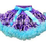 Hot sale infant toddlers pettiskirt for kids 12 year girl without dress Baby Fluffy Tutu Pettiskirt made in China 2016