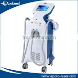 Apolo painless vertical big spot size CE/FDA/ISO13485 10Hz permanent hair remover ipl depilator