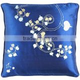RARE Pillow Case Cushion Covers Silk Art Fabric Painting BODHI TREE/PEEPAL TREE
