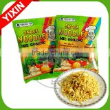 Halal fried instant noodles snack