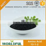 Agriculture organic fertilizer granule, compound NPK 13-1-2 organic fertilizer for fruit