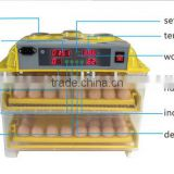 Hot sale full automatic egg incubator/chicken incubator/egg incubator with hatching 96 eggs