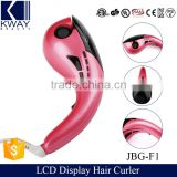 Hair salon equipment new design professional electric hair roller meches ceramic magic mini hair curler with CE certification.