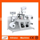 Flexiable blade rotary Label die cutting machine with slitting function