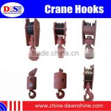 Crane Hook Block for Lifting - Double Hooks Block Used on Crawler Crane, Truck Crane - Crawler Crane Hook