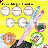 Magic Free Painter / Nail Painter / Cell Phone Painter