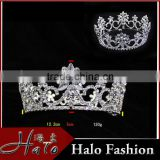 Wholesale Bridal Hair Accessories Silver Plated hair Jewelry Rhinestone Bridal Tiara H172-156