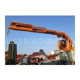 Marine Ship Use Hydraulic Telescopic Knuckle Boom Cranes Construction Equipment