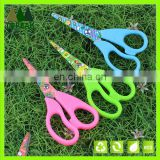 5'' lovely colorful handle student scissors /office scissors