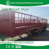 LIBA 3 Axle Fence Semi Trailer Animal Transport Stake Semi Trailer 13 meter long