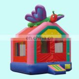 girly butterfly inflatable bouncy castle