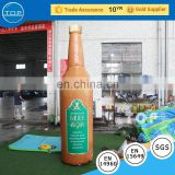 Popular inflatables advertising equipment beer bottle with high quality