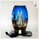 Qin Yuan art desk lamp, creative lamp, decorative table lamp, LED table lamp, American cultural series lamp (Dusa002)
